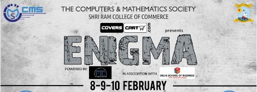 Enigma 2016,Shri Ram College of Commerce, Delhi