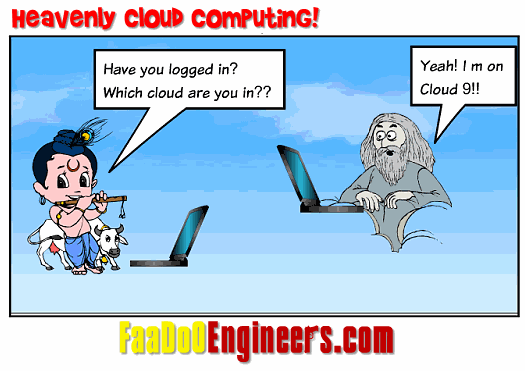 The Lighter Side of Cloud Computing - A Cartoon Series!!