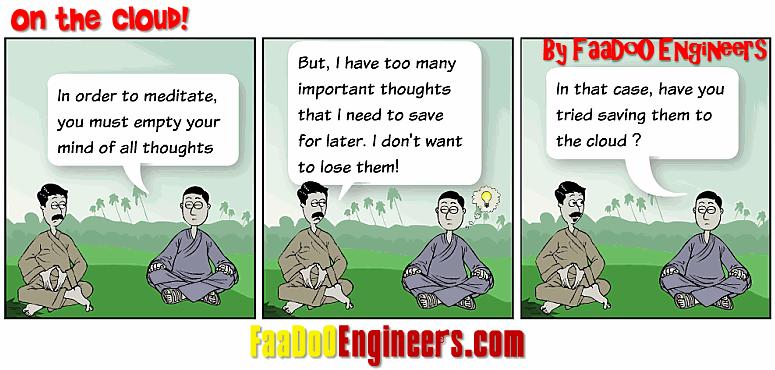 The Lighter Side of Cloud Computing - A Cartoon Series!!
