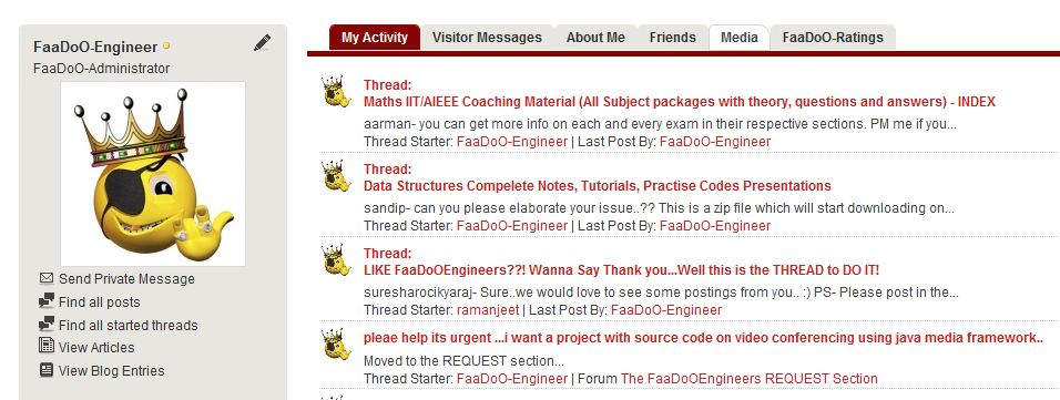 social networking for faadooengineers