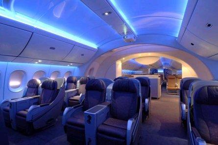 interiors of boeing 787