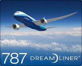 boeing 787 flight