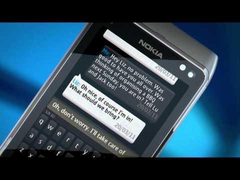 Symbian Anna full qwerty portrait keypad