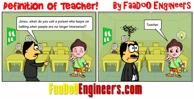 FaaDoO definiton of a Teacher