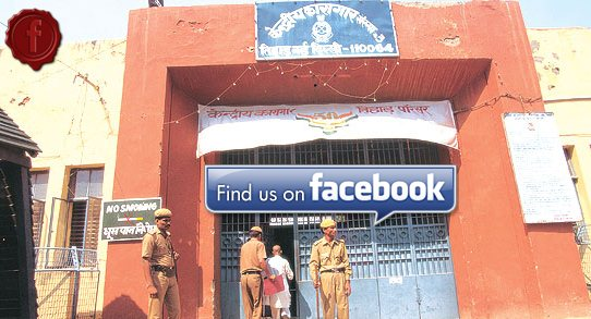 FACEBOOKED! Social Networking Frenzy Reaches Prison, Tihar jail now on Facebook & Twitter
