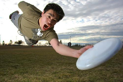 Ultimate Frizbee @ spree 2011