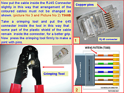 make a LAN cable/ network cable/ network UTP cable image 5