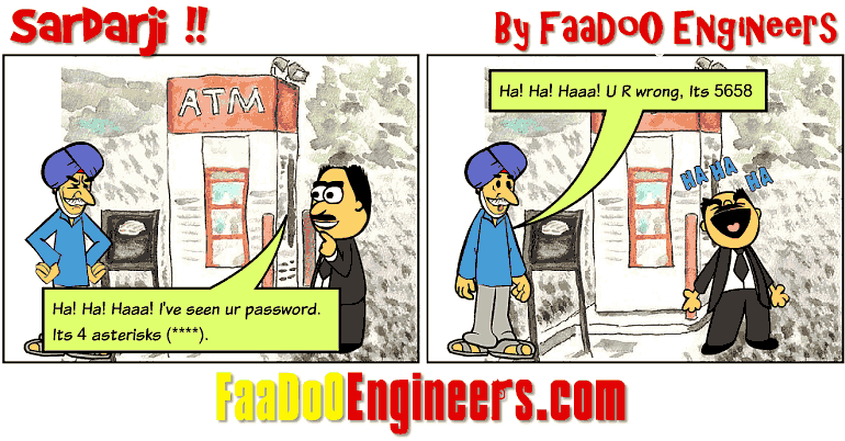 How To Get a Sardar Reveal His ATM Pin??!!