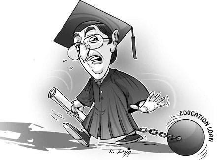 moratorium period - education loan in india