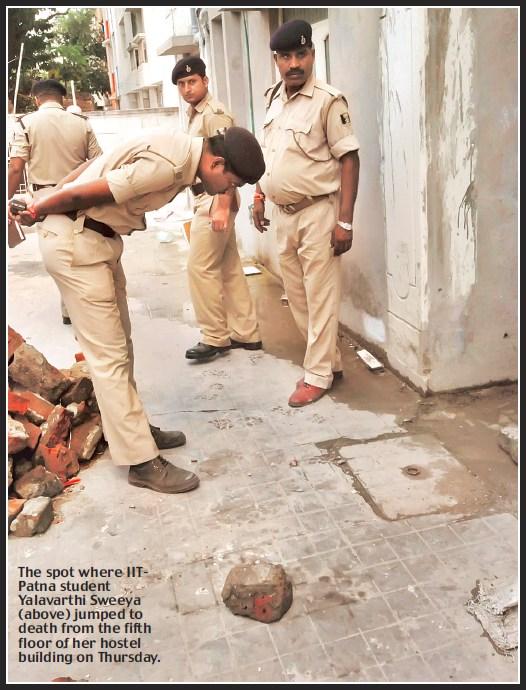 IIT-Patna Suicide Case in Aug 2011