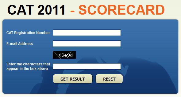cat iim 2011 website crashes