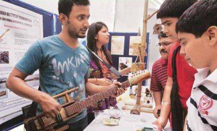 bamboo guitar iit delhi invention