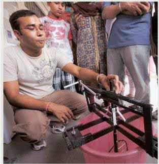 bucket washing machine iit delhi invention