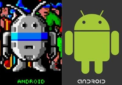 secret of the android logo