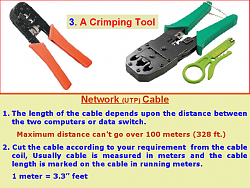 make a LAN cable/ network cable/ network UTP cable image 3
