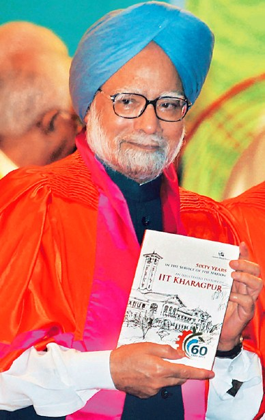 The PM releases a publication during the convocation.