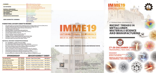 2nd-International-Conference-on-Recent-Trends-in-Metallurgy-Materials-Science-and-Manufacturing-2019
