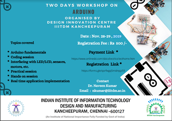 A-Two-Day-Workshop-on-Arduino-2019