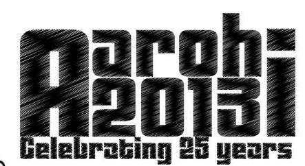 Aarohi 2013, VNIT , Nagpur, Maharashtra, Cultural Fest