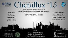 CHEMFLUX '15, Technical Symposium, SRM University