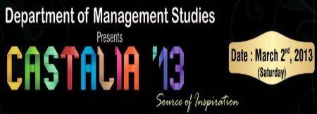 Castalia 2013, Sri Venkateswara Group of Institutions, Coimbatore, Tamil Nadu, Management Fest