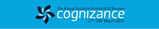 Cognizance 2015, Technical Fest , IIT Roorkee