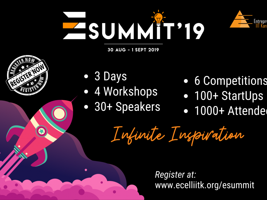 E-Summit '19 , IIT Kanpur