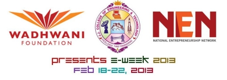 E-Week 2013, JJ College of Engineering and Technology, Trichy, Tamil Nadu, Management Fest
