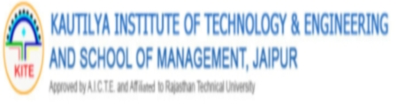 E-Week 2013, Kautilya Institute of Technology and Engineering, Jaipur, Rajasthan, Management Fest