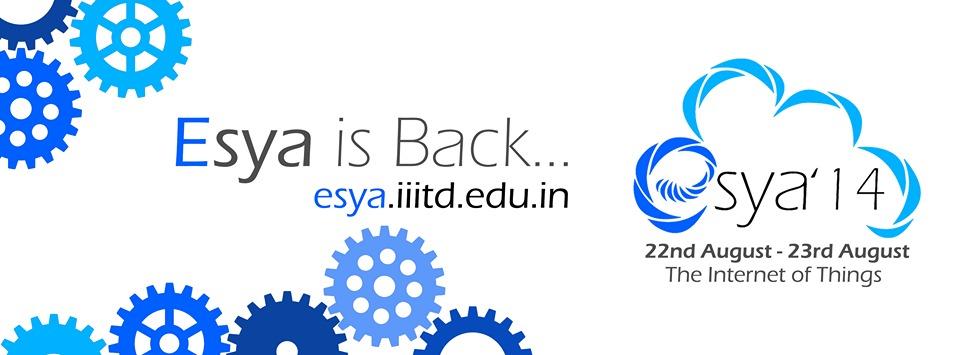 Esya 14 Technical Fest IIIT Delhi