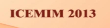 ICEMIM 2013, VIT University, Vellore, Tamil Nadu, Management Fest