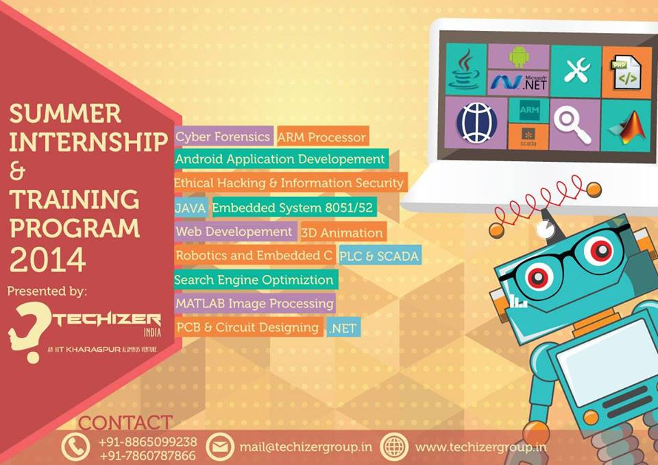 IIT Madras - Summer Internship - Workshops