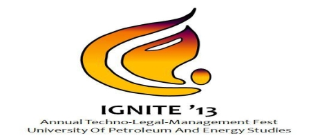Ignite 13, University of Petroleum and Energy Studies, Dehradun, Uttaranchal, Techno Legal Management Fest