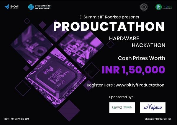 PRODUCTATHON-Hardware-Hackathon-2020