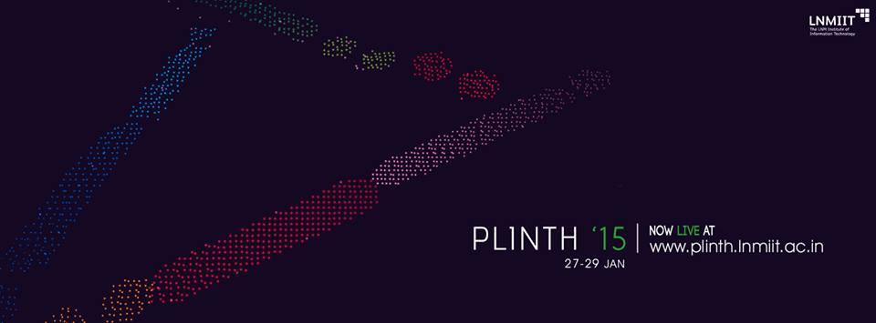 Plinth 2015 LNMIIT