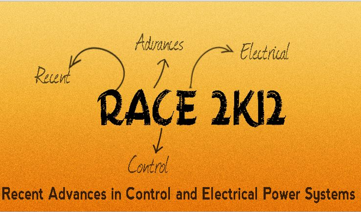 Race 2k12 Electrical Conference Deccan College of Engineering & Technology, Hyderabad, Andhra Pradesh, 17th - 18th September 2012