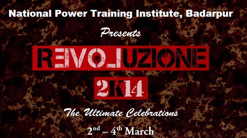Revoluzione'14 Delhi Haat, National Power Training Institute