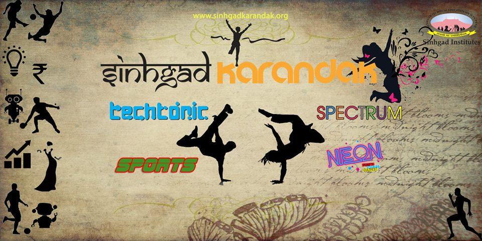 Sinhgad Karandak 2015, Technical, Cultural, Sports Fest, Sinhgad College