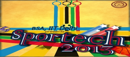 Sportech 2013, Indian Institute of technology Delhi, Delhi, Sports Fest