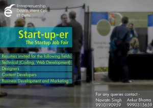 Start uper The Startup Job Fair IIT Delhi