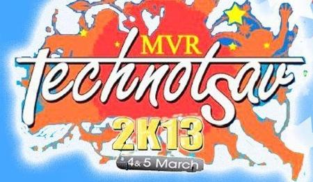 Technotsav 2K13, MVR College of Engineering and Technology, Vijayawada, Andhra Pradesh, Techno Cultural & Sports Fest