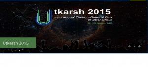 Utkarsh, Carnival , Babu Banarasi Das University