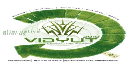 Vidyut 2013, Amrita School Of Engineering, Kollam, Kerala, Technical Fest