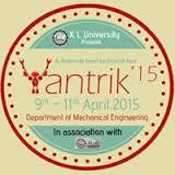 YANTRIK'15, Technical  Fest, K L UNIVERSITY