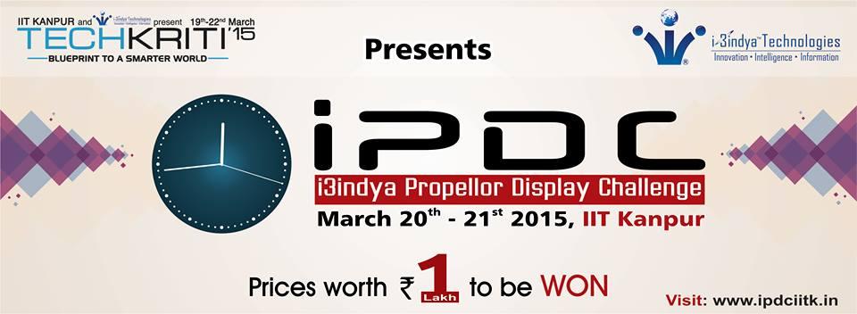iPDC-Techkriti-2015