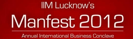 iim lucknow manfest 2012 logo