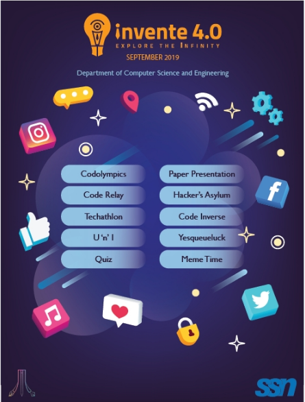 Invente 4.0 2019, SSN College of Engineering